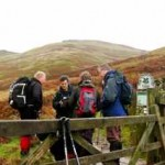 Navigation Course in the Derbyshire Peak District